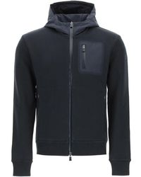 Herno Laminar Hooded Sweatshirt - Blue
