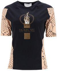 Marine Serre Moon T-shirt - Black