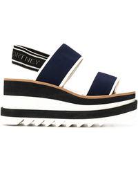 Stella McCartney Sneak Elyse Sandals - Blue