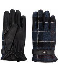 Barbour Gloves Blue
