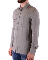 Dondup Shirt In - Grey