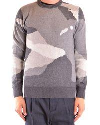 Woolrich Viscose Jumper - Grey