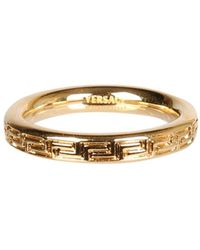 Versace Ring With Greek - Multicolour