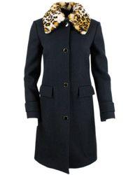 Anna Molinari Coats Black