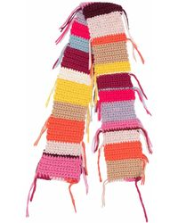 Forte Forte Scarfs Yellow - Pink