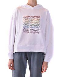 Giada Benincasa Sweatshirts - Purple