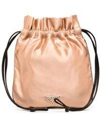Prada - Triangle-logo Mini Bag - Lyst