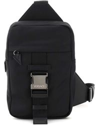Versace - Single Strap Backpack - Lyst