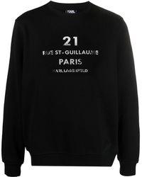 Karl Lagerfeld Sweaters Black