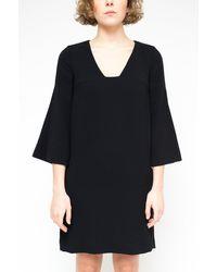 L'Autre Chose V-neck Dress - White
