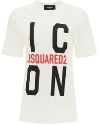 DSquared² Icon Print T-shirt - Multicolour