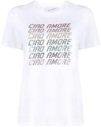 Giada Benincasa Ciao Amore T-shirt - White