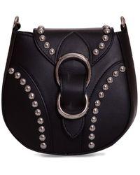 Orciani Beth Piuma Ball Bag - Black