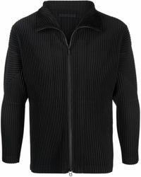Issey Miyake Sweaters Black