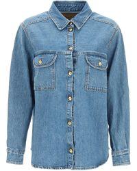 Blazé Milano Berida Narida Denim Shirt - Blue