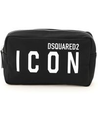 DSquared² Icon Beauty Case - Black