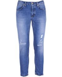 Dondup Pants Denim - Blue