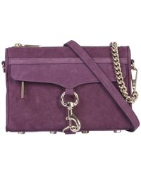 Rebecca Minkoff M.a.c. Mini Crossbody Bag - Purple