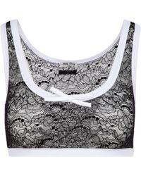 Miu Miu Bra Underwear - Gray