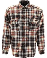 Rassvet (PACCBET) Tie-dye Check Shirt - Natural
