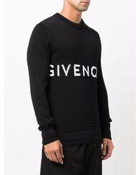 Givenchy Logo-intarsia Jumper - Black