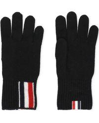 Thom Browne Gloves Black