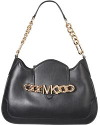 MICHAEL Michael Kors Hally Shoulder Bag - Black