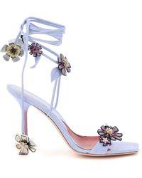 Roger Vivier Vivier Blossom 100 Sandals - Blue