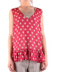 Twin Set Shirts Casual - Red