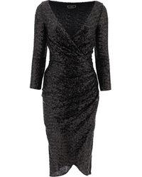 Elisabetta Franchi Other Materials Dress - Black