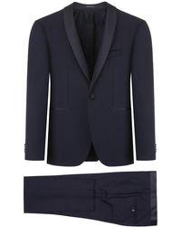 Tagliatore Bruce Two-piece Suit - Blue