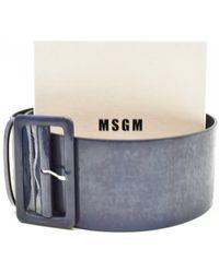 MSGM Belts - Multicolour
