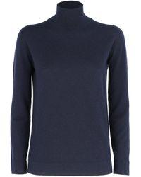 Agnona Sweaters Blue