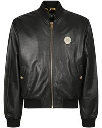 Versace Jeans Couture Leather Jacket - Black