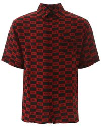 424 Short-sleeved Shirt - Red