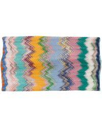 Missoni Missoni Zig-zag Patterned Hairband - Multicolor