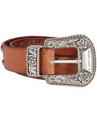 Golden Goose Brown Leather Belt