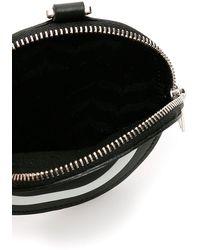 Neil Barrett Monogram Neck Coin Purse - Black