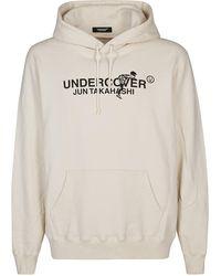 Undercover Ecru Cotton Sweatshirt - White