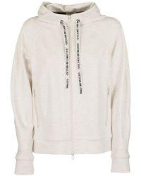 Brunello Cucinelli Sweatshirt Lightweight Stretch Cotton French Terry - Multicolour