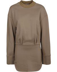 The Attico Dresses Brown