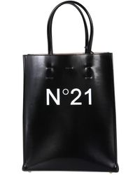 N°21 Small Shopping Bag - Black