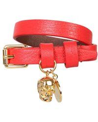 Alexander McQueen Bracelet - Red