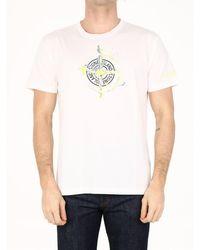 Stone Island T-shirt Logo White