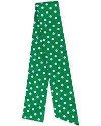 Miu Miu Thin Scarf - Green