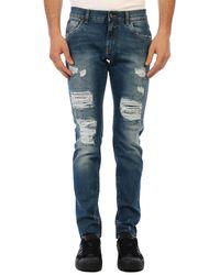 Dolce & Gabbana Skinny Denim Jeans - Blue