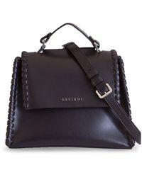 Orciani Sveva Chain Small Bag - Black
