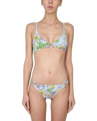 Tory Burch Bikini Briefs Bottom - Green