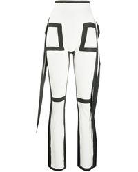 Issey Miyake Pants White