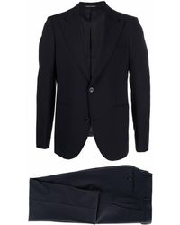 Emporio Armani Suit Blue
